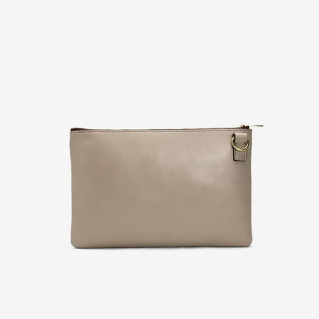 BLEUET ACCESSORY POUCH 【TAUPE】