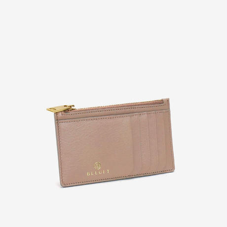 BLEUET CARD WALLET 【BABY TAUPE】