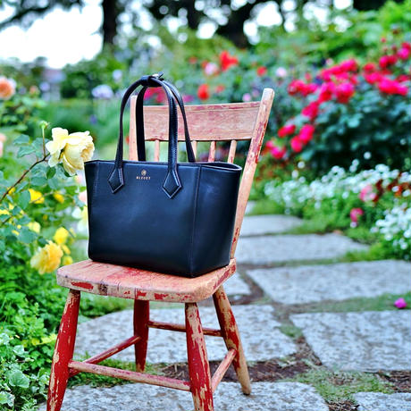 BLEUET MINI TOTE BAG  / CARMEN【PIANO BLACK】