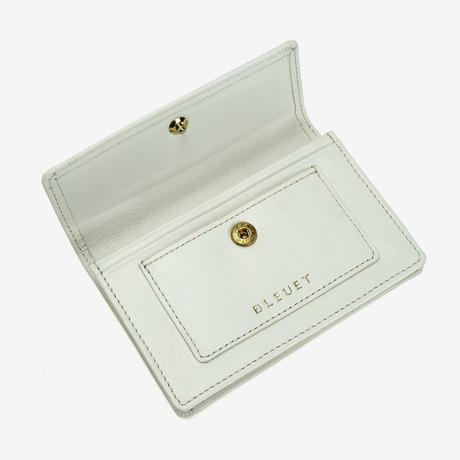 BLEUET CARD CASE 【WHITE】
