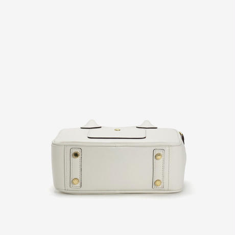BLEUET MINI BOSTON BAG / BOX【WHITE】