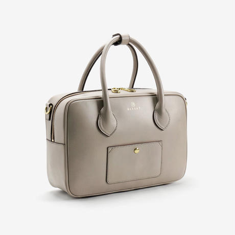 BLEUET M BOSTON BAG / BOX【TAUPE】
