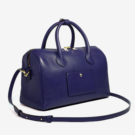 BLEUET M BOSTON BAG【NAVY BLUE】