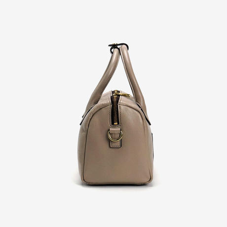 BLEUET MINI BOSTON BAG【TAUPE】