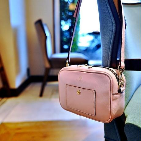 BLEUET ACCESSORY POUCH / BOX【BABY PINK】