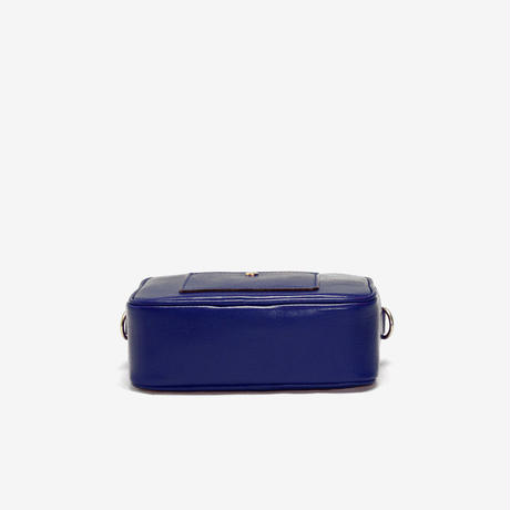 BLEUET ACCESSORY POUCH / BOX【NAVY BLUE】