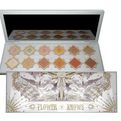 FlowerKnows(フラワーノーズ)リトルエンジェル12色アイシャドウパレット