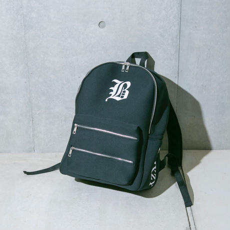 "【残り僅か】""B ""   LOGO  BACKPACK"
