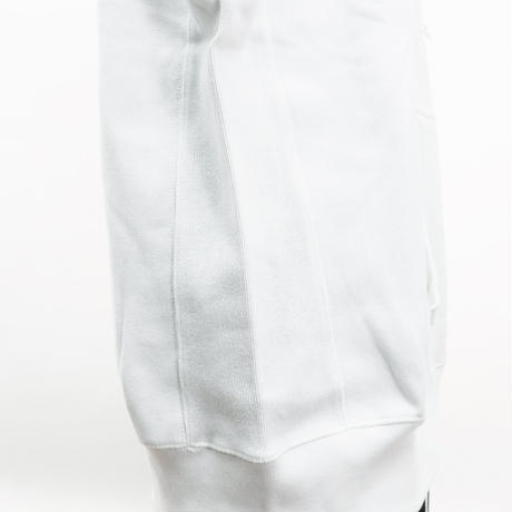 BLIXZY BOX LOGO HEAVY WEIGHT HOODIE (WHITE)