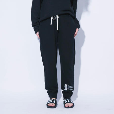 【残り僅か】MESSAGE SWEAT PANTS