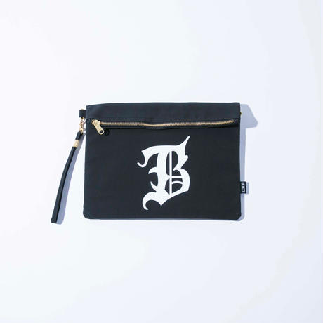 "【残り僅か】B"" LOGO  CLUTCH BAG"