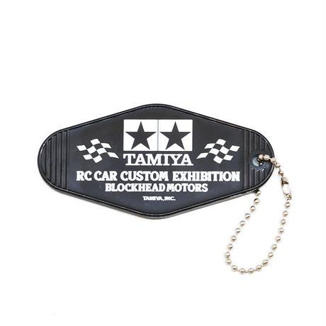 TAMIYA x  BLOCKHEAD MOTORS キーホルダー/ブラック