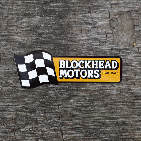 CHECKER FLAG ロゴステッカー / Checker flag logo sticker