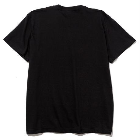 USUGROW(薄黒) x BLOCKHEAD MOTORS Tシャツ(ブラックXホワイト)