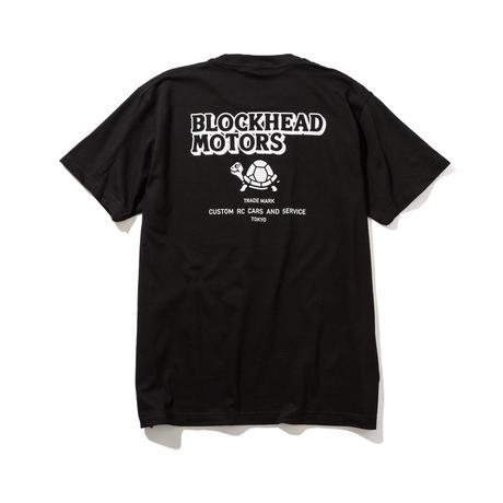 BLOCKHEAD MOTORS スタンダードTシャツ(ブラック)/ STANDARD TSHIRT BLACK