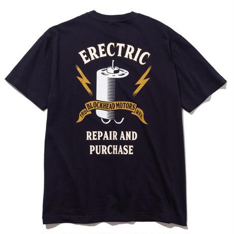 ELECTRIC MOTOR Tシャツ(ネイビー) / ELECTRIC MOTOR TSHIRT  NAVY