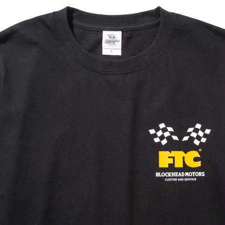FTC x BLOCKEHEAD MOTORS T-SHIRT BLACK