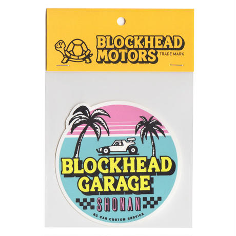 BLOCKHEAD GARAGE SHONANステッカー