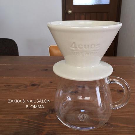 KINTO コーヒーブリュワー 4cupホワイト