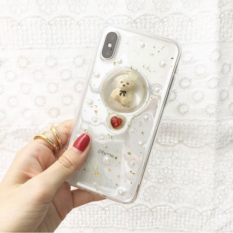 Teddy bear pearl case