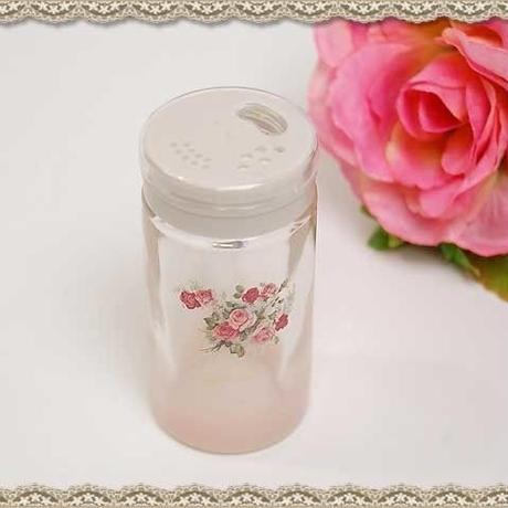 ■アンジェリカ ガラススパイスボトル S 【薔薇雑貨 プラン・ド・パリ 調味料入れ キッチン 容器】