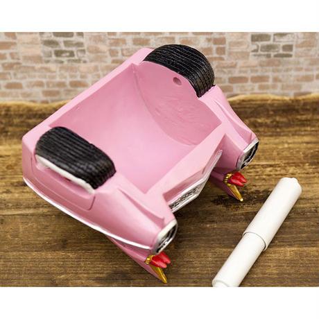 【メーカー直送品】オールディーズ ペーパーホルダー レッド&ピンクカー