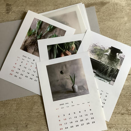 "blossom made to order flowers 10th anv, calendar 2022//2set// (ブロッサム""10周年記念"" 2022カレンダー) 2セット"