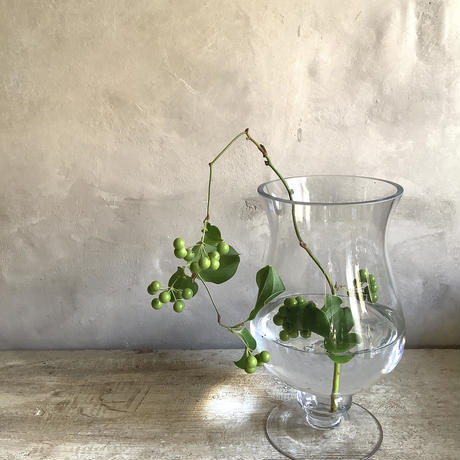 """Glass vase Constricition""""S"""" (グラスベース・コンストリクション""""S"""" )"""