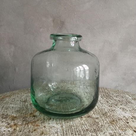 Classical Glass Bottle Flower Vase (クラシカル  グラスボトル フラワーベース)1.5L