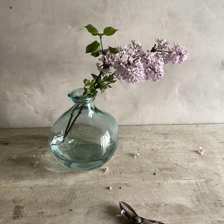 Slime gourd glass Bottle Flower Vase (スライムグールドガラスボトル フラワーベース)