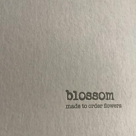 "blossom made to order flowers 10th anv, calendar 2022//1set// (ブロッサム""10周年記念"" 2022カレンダー)1セット"