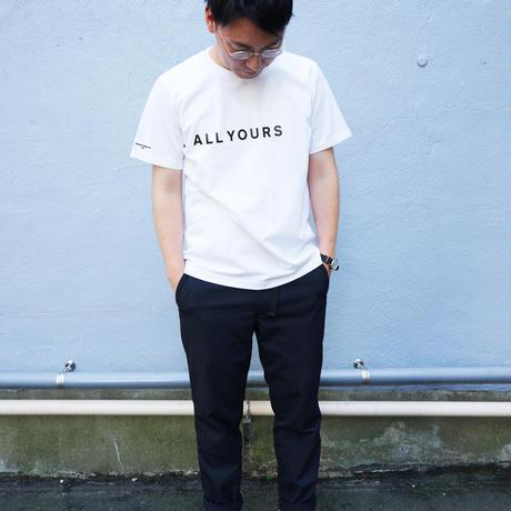 【配送受取】「着たくないのに、毎日着てしまう」 Tシャツ(ALL YOURS×Helvetica Design inc.) [WHITE]