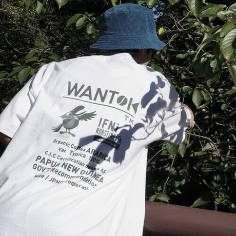 """EVCON×IFNi """"WANTOK T-SHIRT"""" [WHITE]"""