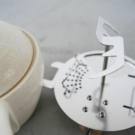 長谷園土鍋焙煎機/白
