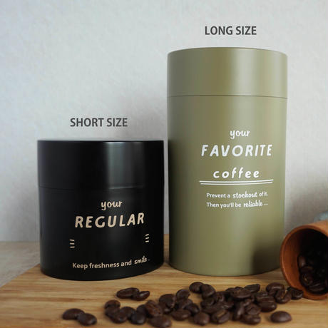 [IFNi ROASTING & CO.]CANISTER LONG 「FAVORITE」