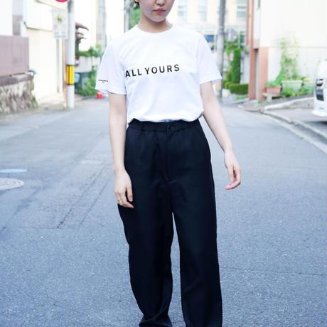 【店舗受取】「着たくないのに、毎日着てしまう」 Tシャツ(ALL YOURS×Helvetica Design inc.) [WHITE]