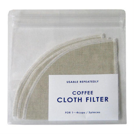 [IFNi ROASTING & CO.]CLOTH FILTER /MIX COLOR(1〜4杯用)