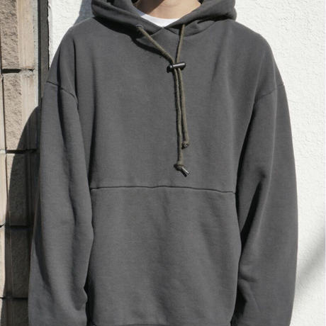 IFNI SWEAT PARKA [BLACK]