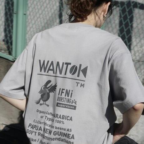 "EVCON×IFNi ""WANTOK T-SHIRT"" [GRAY]"