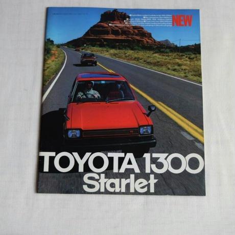 19100032 TOYOTA 1300 Starlet カタログ