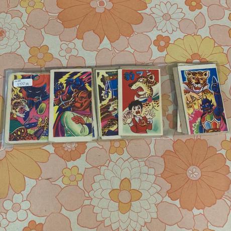 豹マン/カード (14枚)