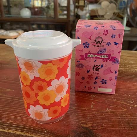 ワールド印/桜/醤油差し