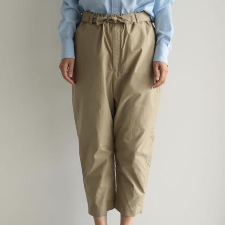 COSMIC WONDER / Ancient mythic cotton obi pants(men's,lady's/Beige)