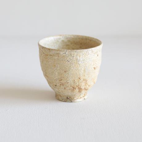 尾形アツシ/ヒビ粉引フリーカップ