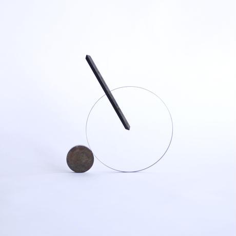 嘉手納重広 / ドライフラワーベース ヤジルシ(真鍮)