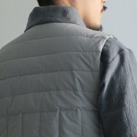 COSMIC WONDER / Beautiful folk down haori vest(Men's/Gray)