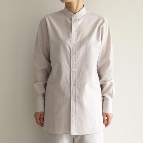 AURALEE /WASHED FINX TWILL SHIRTS (Lady's/LIGHT PURPLE)