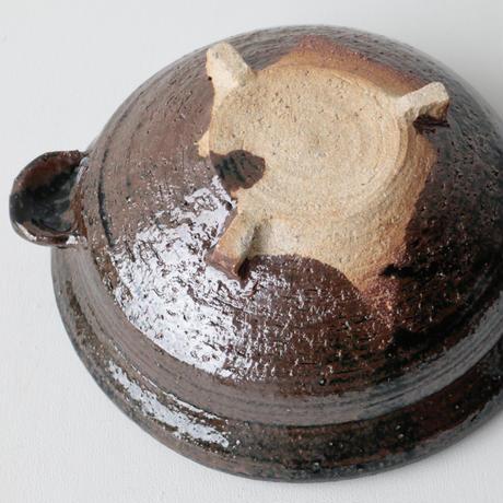 石井直人/鉄釉大平鍋