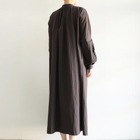 えみおわす /one-piece coat(lady's /Charcoal Black )