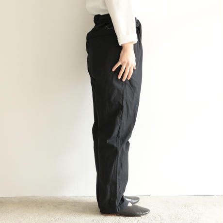 COSMIC WONDER /Beautiful organic cotton wrapped pants (Black)